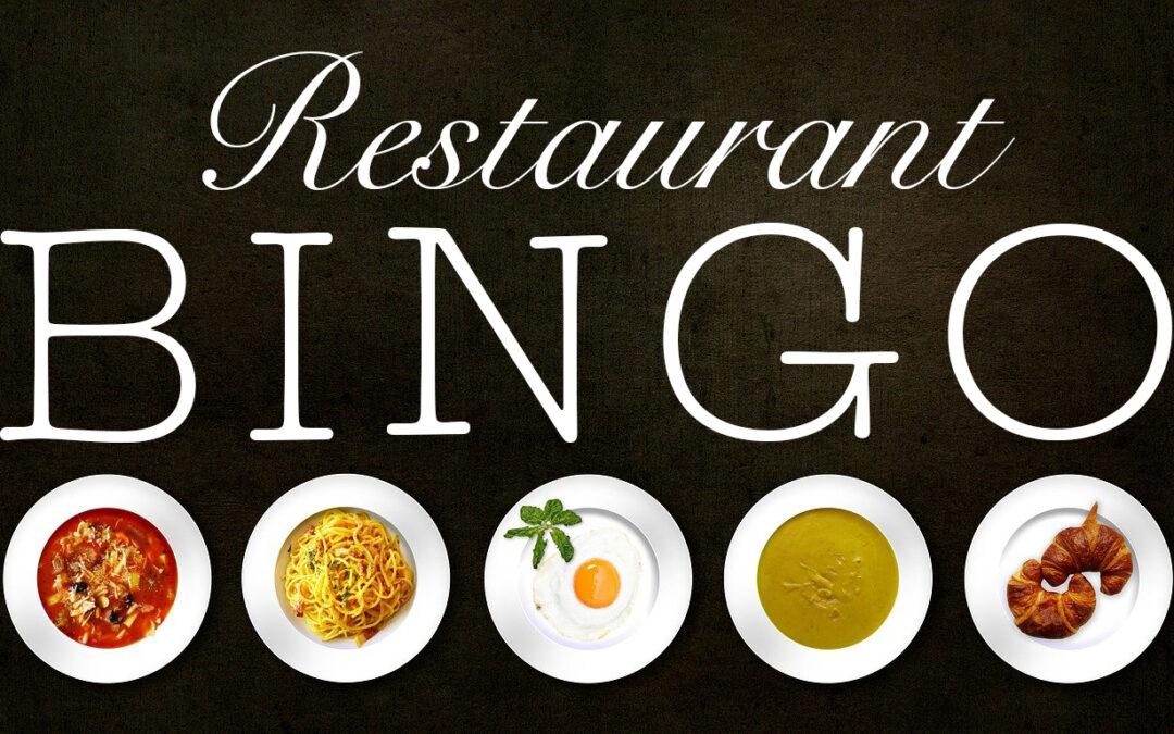 Visit Colorado Springs Launches 'Restaurant BINGO'